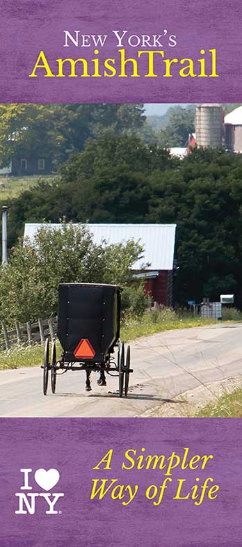 Cover of the 2018 Amish Trail Brochure